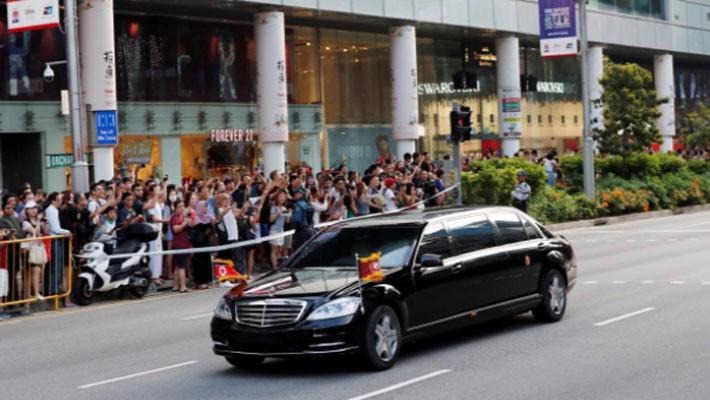 Những hình ảnh đầu tiên của ông Trump và ông Kim Jong Un ở Singapore - Ảnh 7.