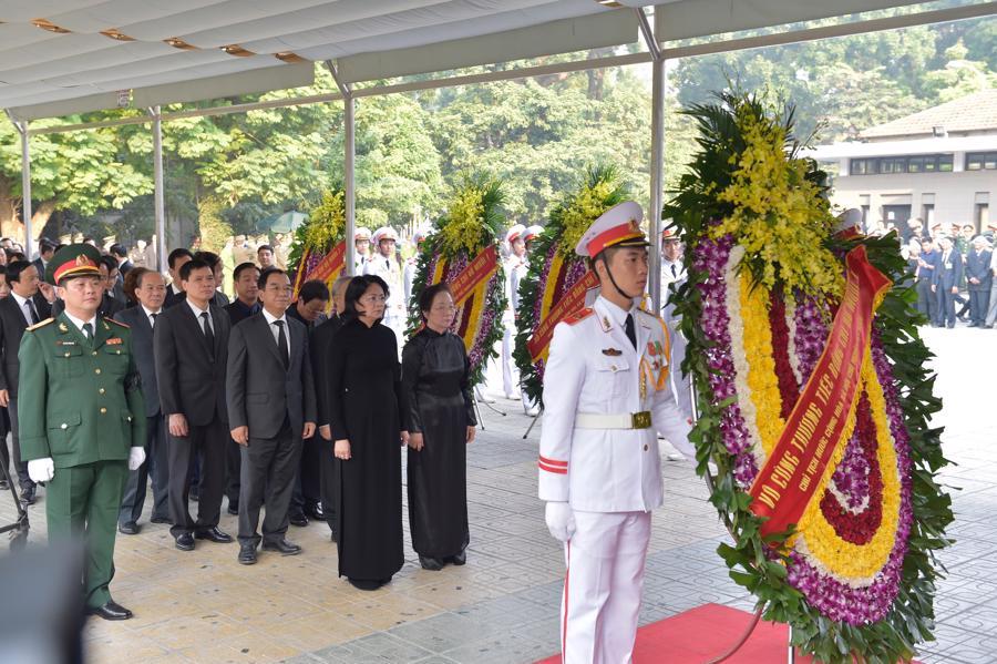 Hình ảnh lễ viếng nguyên Tổng bí thư Đỗ Mười - Ảnh 4.