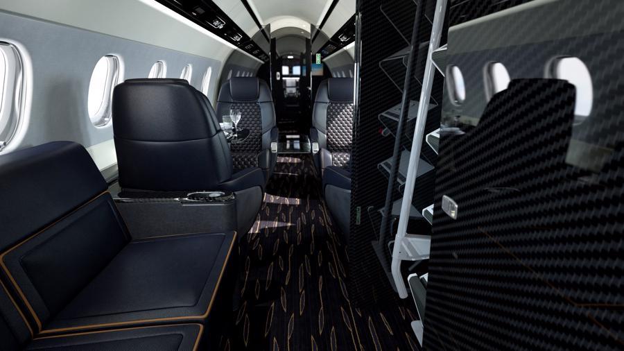 Máy bay cá nhân với nội thất lấy cảm hứng từ bãi biển Brazil - Ảnh 6.
