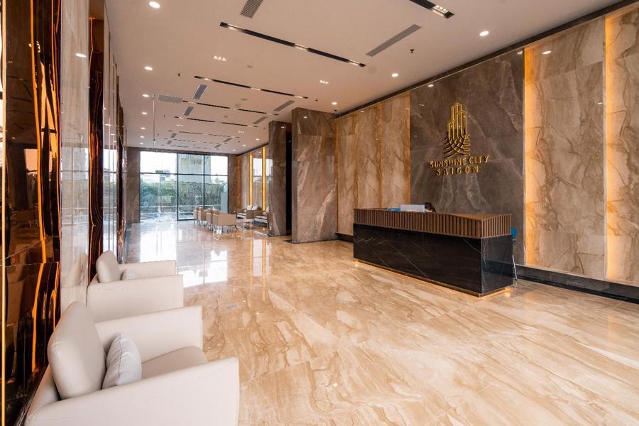 Chi 3 triệu USD lắp đèn LED, tòa tháp sắp bàn giao trở thành biểu tượng khu Nam Sài Gòn - Ảnh 6.