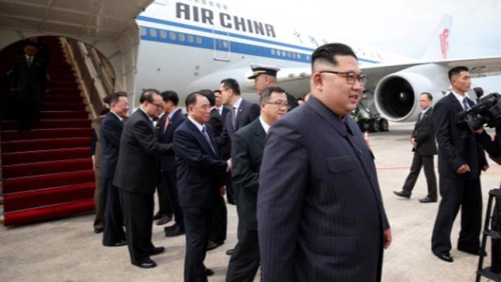 Những hình ảnh đầu tiên của ông Trump và ông Kim Jong Un ở Singapore - Ảnh 8.