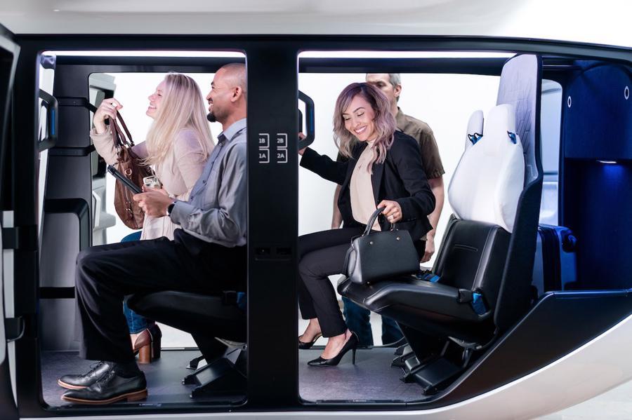 Cận cảnh nội thất taxi bay chở khách đầu tiên của Uber - Ảnh 8.