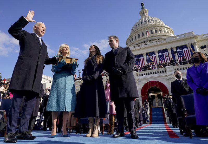 Toàn cảnh lễ nhậm chức đặc biệt của tân Tổng thống Mỹ Joe Biden - Ảnh 11
