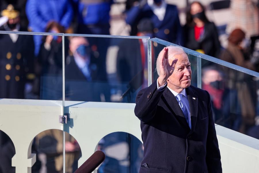 Toàn cảnh lễ nhậm chức của tân Tổng thống Mỹ Joe Biden - Ảnh 15.