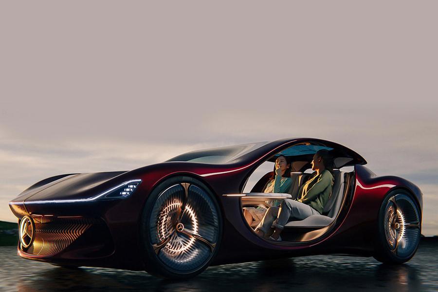 Siêu xe tự lái bản concept năm 2035 của Mercedes-Benz - Ảnh 1.