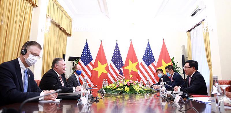 Ngoại trưởng Mỹ Michael Pompeo thăm chính thức Việt Nam - Ảnh 9.