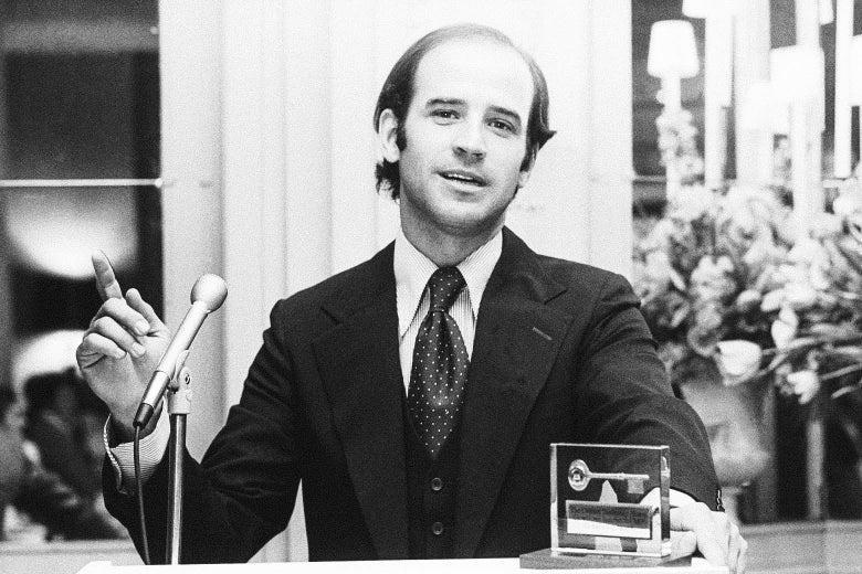 Chùm ảnh đáng nhớ trong cuộc đời và sự nghiệp của ứng viên tổng thống Joe Biden - Ảnh 3.