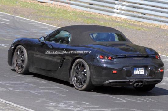 Porsche Boxster 2012, những hình ảnh đầu tiên - Ảnh 5
