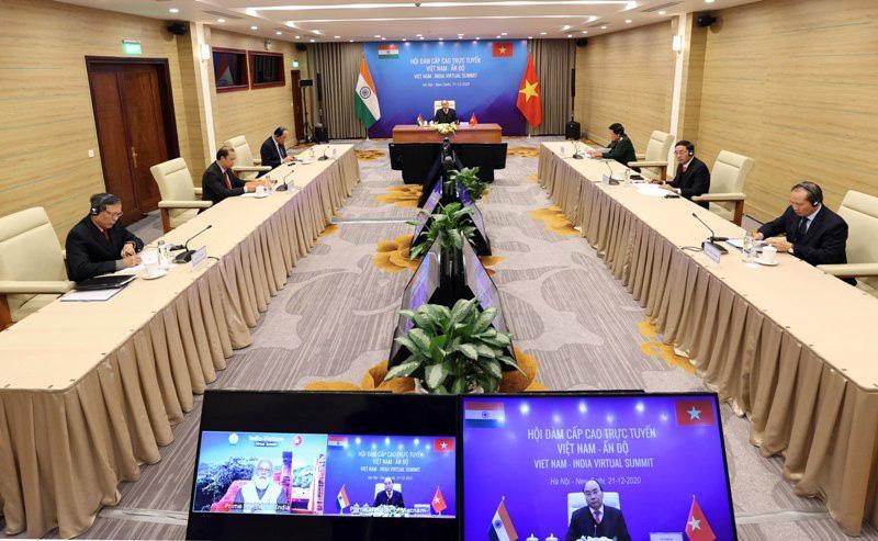 Việt Nam - Ấn Độ phấn đấu sớm đạt kim ngạch thương mại 15 tỷ USD - Ảnh 1.