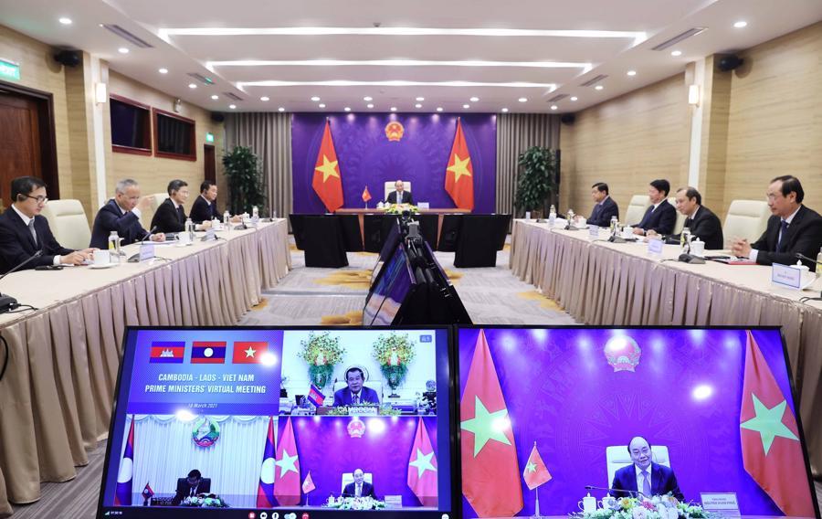 Tiếp tục đẩy mạnh hợp tác hữu nghị Campuchia - Lào - Việt Nam - Ảnh 1.