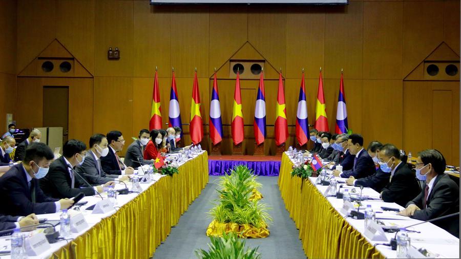 Phó Thủ tướng, Bộ trưởng Ngoại giao Phạm Bình Minh thăm chính thức Lào - Ảnh 1.