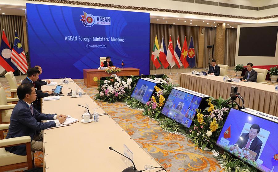 Khai mạc Hội nghị Bộ trưởng Ngoại giao ASEAN - Ảnh 1.