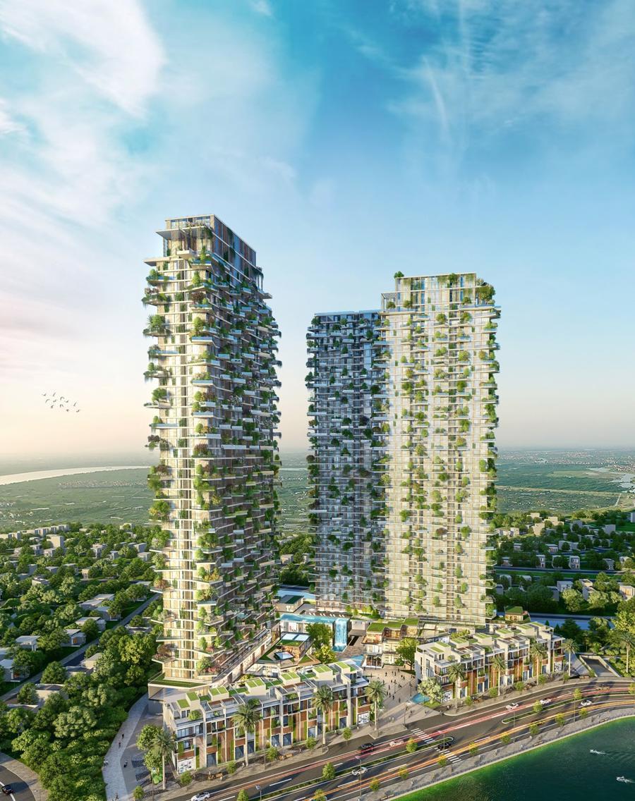 Kỳ công vận hành 400 vườn trên mây của tháp xanh cao nhất Việt Nam tại Ecopark - Ảnh 1.