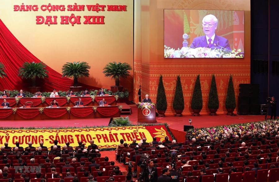 Tổng bí thư, Chủ tịch nước: Khơi dậy tinh thần và ý chí, quyết tâm phát triển đất nước phồn vinh, hạnh phúc - Ảnh 1.