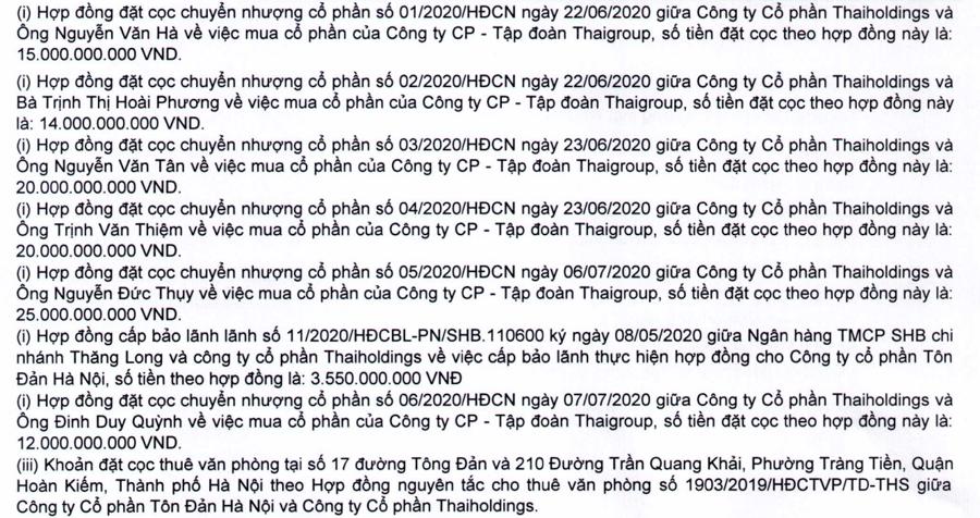 Thaiholdings của bầu Thuỵ đặt cọc trăm tỷ cho thương vụ thâu tóm ngược - Ảnh 1.