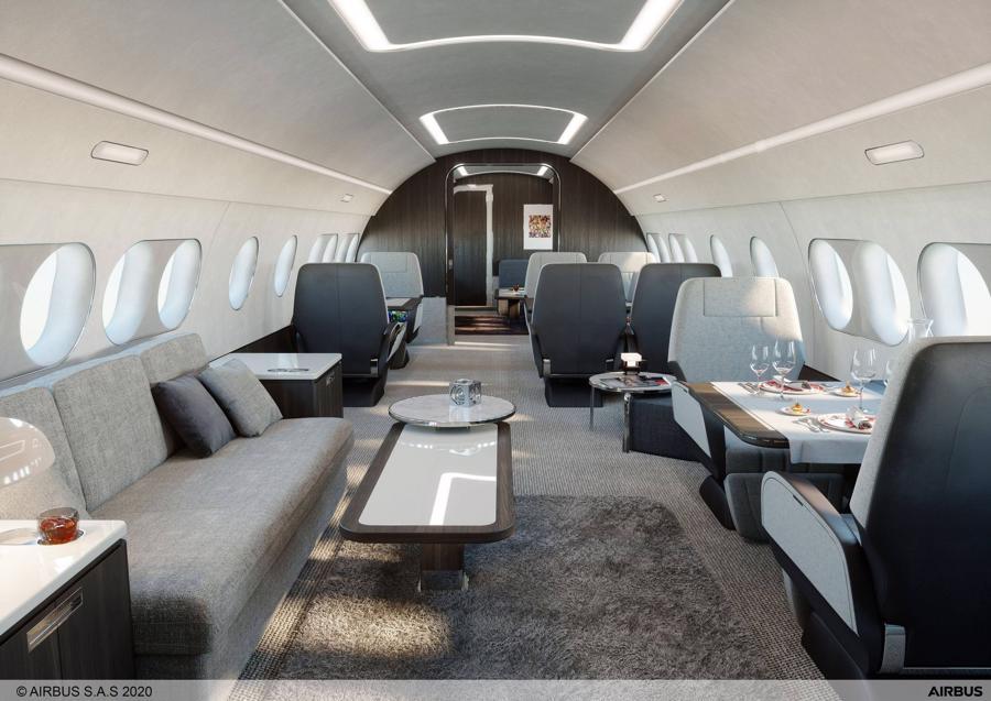 Máy bay phản lực tư nhân ACJ 220 của Airbus được kỳ vọng ở thị trường APAC - Ảnh 1.