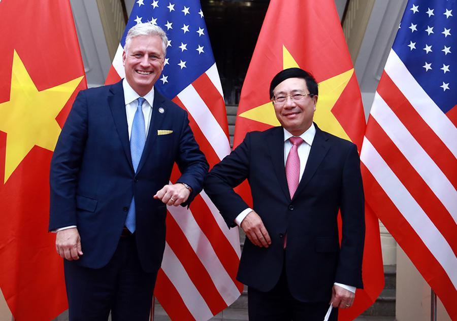 Cố vấn An ninh Quốc gia Mỹ Robert O'Brien: Quan hệ Việt - Mỹ chưa bao giờ mạnh như hiện nay - Ảnh 4.