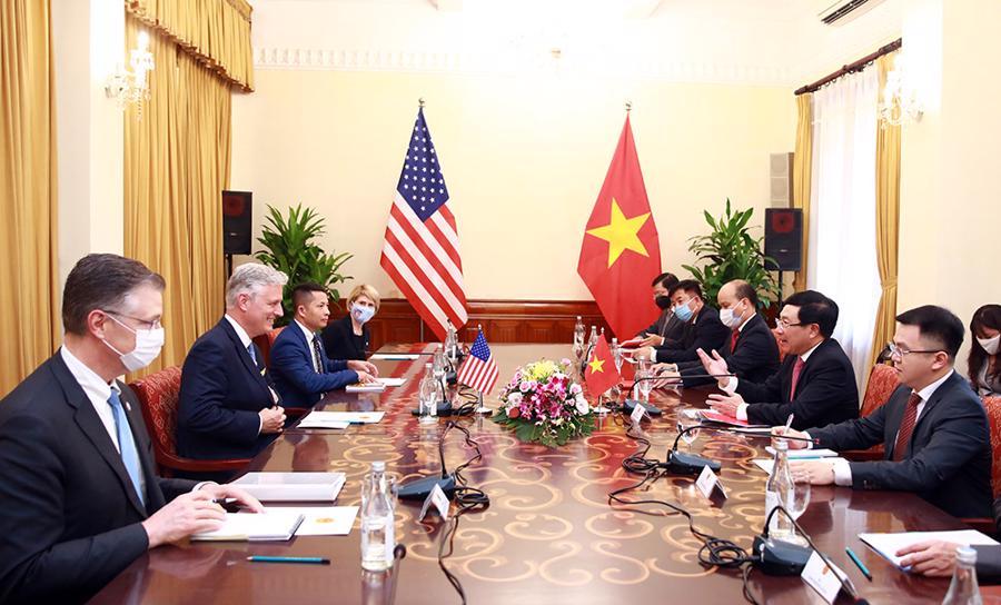 Cố vấn An ninh Quốc gia Mỹ Robert O'Brien: Quan hệ Việt - Mỹ chưa bao giờ mạnh như hiện nay - Ảnh 5.