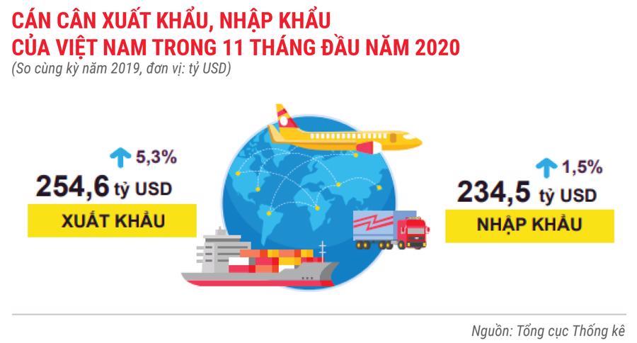 Bức tranh kinh tế Việt Nam 11 tháng 2020 qua các con số - Ảnh 12.