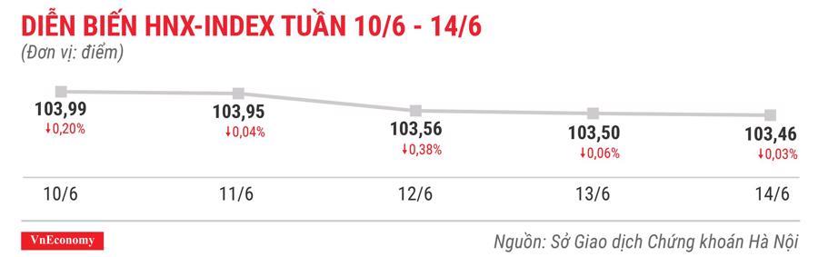 Top 10 cổ phiếu tăng/giảm mạnh nhất tuần 10-14/6 - Ảnh 5.