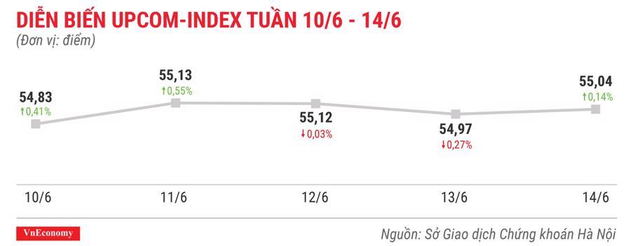 Top 10 cổ phiếu tăng/giảm mạnh nhất tuần 10-14/6 - Ảnh 9.