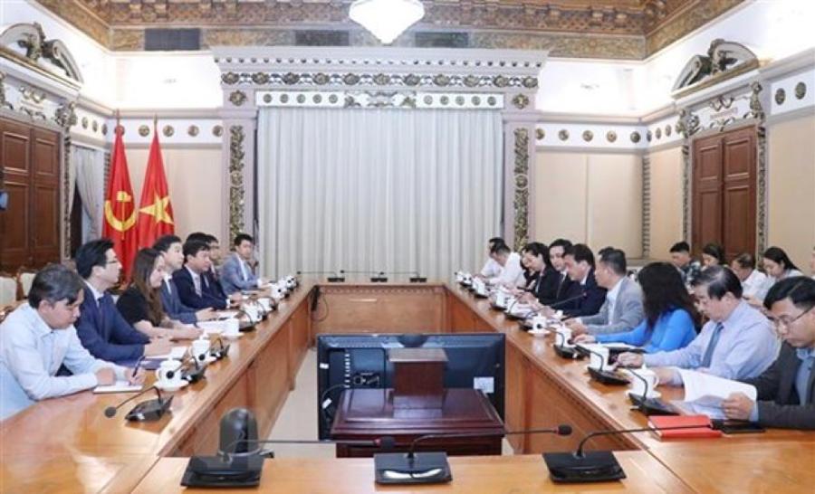 Siêu dự án Eco Smart City Thủ Thiêm sẽ tiếp tục được Tập đoàn Lotte, Hàn Quốc xây dựng thành đô thị thông minh - Ảnh 1.