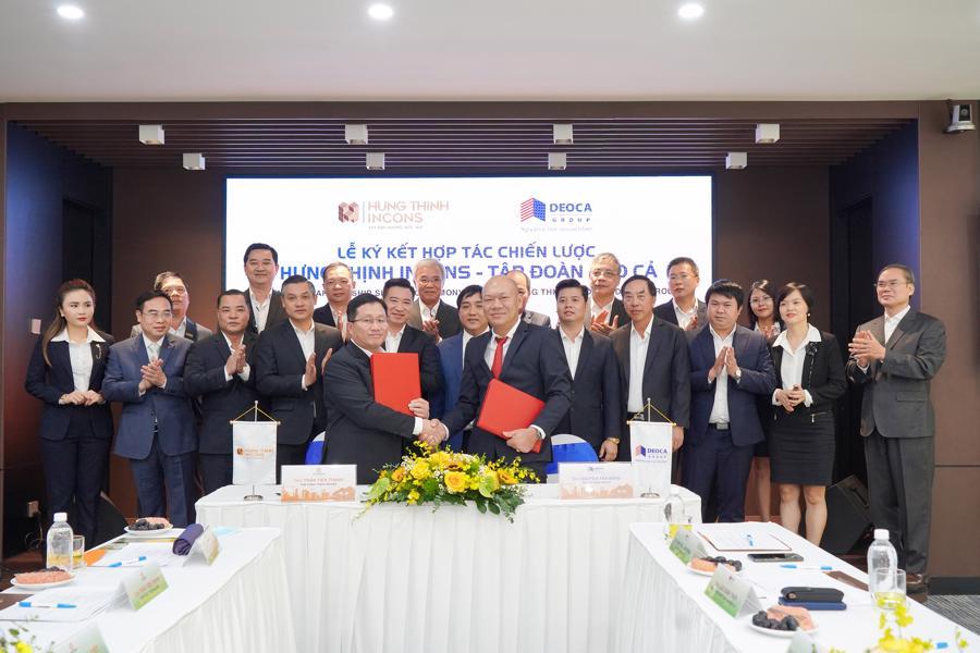 Tập đoàn Hưng Thịnh hợp tác cùng tập đoàn Đèo Cả - Ảnh 1.