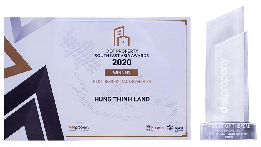 Hưng Thịnh Land nhận giải thưởng nhà phát triển Bất động sản nhà ở tốt nhất Đông Nam Á 2020 - Ảnh 3.
