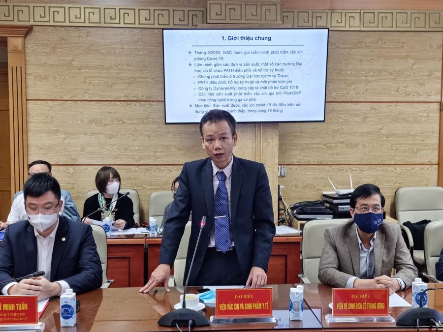 Việt Nam dự kiến tiêm thử nghiệm lâm sàng vaccine Covid-19 thứ 2 vào tháng 3 - Ảnh 1.