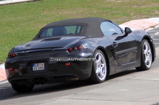 Porsche Boxster 2012, những hình ảnh đầu tiên - Ảnh 4