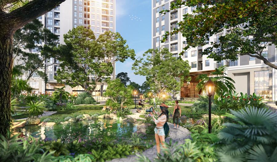 Hà Nội: Khan hiếm dự án xanh trong trung tâm - Ảnh 1.
