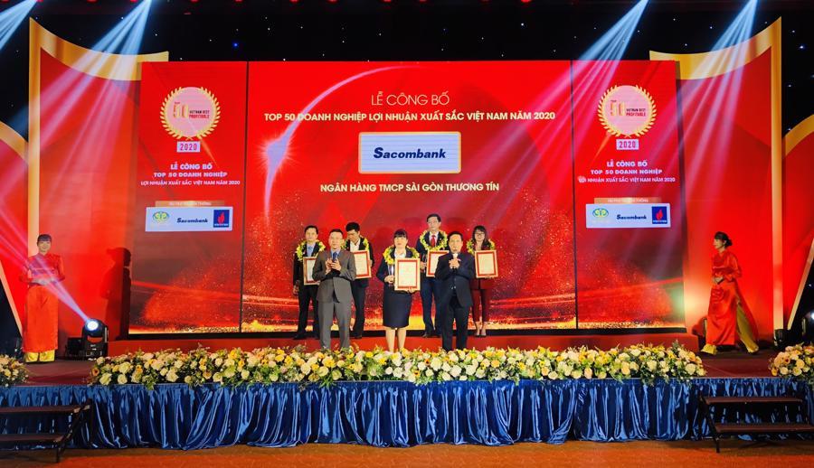 Sacombank đạt giải Doanh nghiệp, Doanh nhân xuất sắc Châu Á năm 2020 - Ảnh 1.