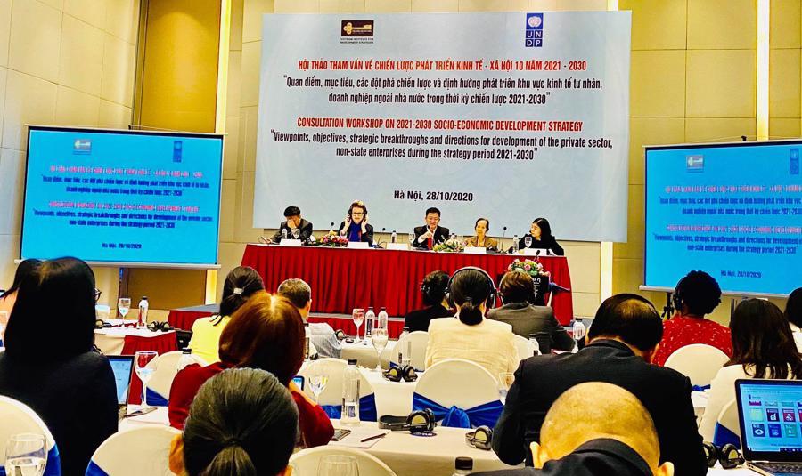 """""""Vì một Việt Nam Thịnh Vượng, doanh nghiệp tư nhân phải được cạnh tranh bình đẳng"""" - Ảnh 1."""