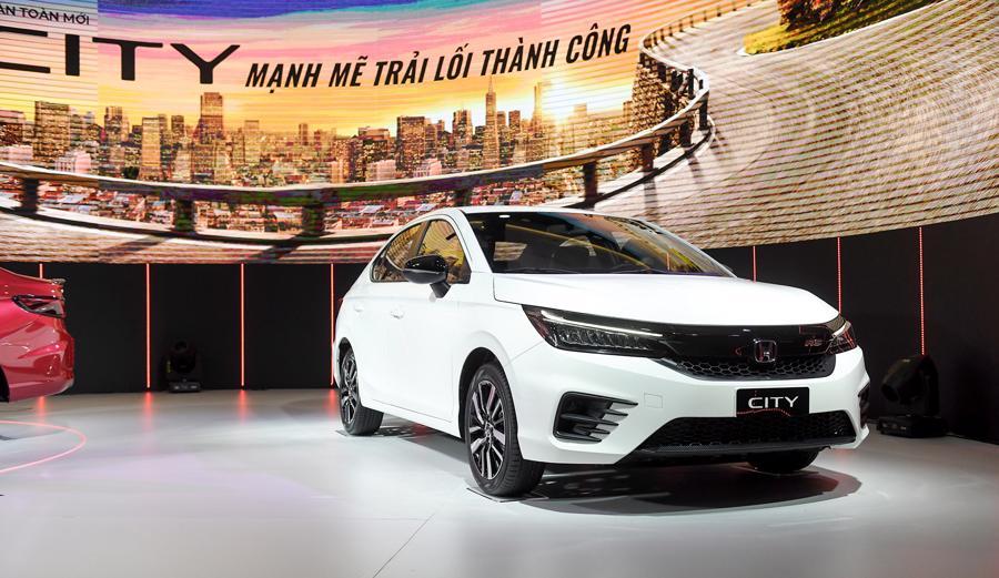 """Honda City 2021 giá từ 529 triệu đồng, quyết """"đấu"""" Toyota Vios và Hyundai Accent - Ảnh 1."""