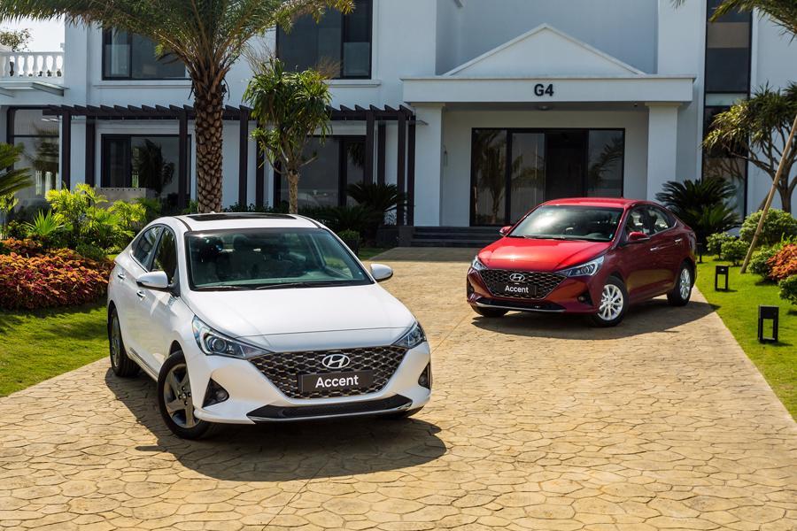 Ngoại thất của Hyundai Accent 2021 có một số tinh chỉnh so với phiên bản trước.