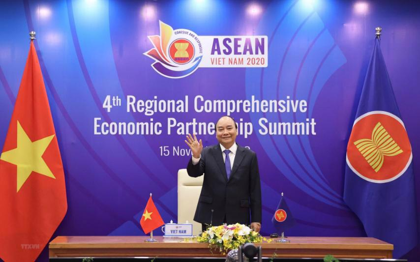 """""""Việt Nam đạt được những bước tiến quan trọng trong hội nhập kinh tế quốc tế năm 2020"""" - Ảnh 1."""