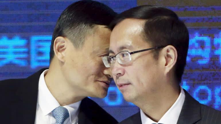 Jack Ma + Zhang Daniel