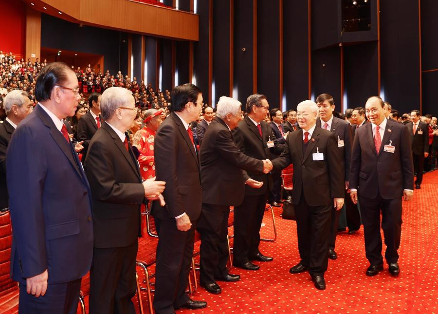 Khai mạc trọng thể Đại hội đại biểu toàn quốc lần thứ XIII của Đảng - Ảnh 1.