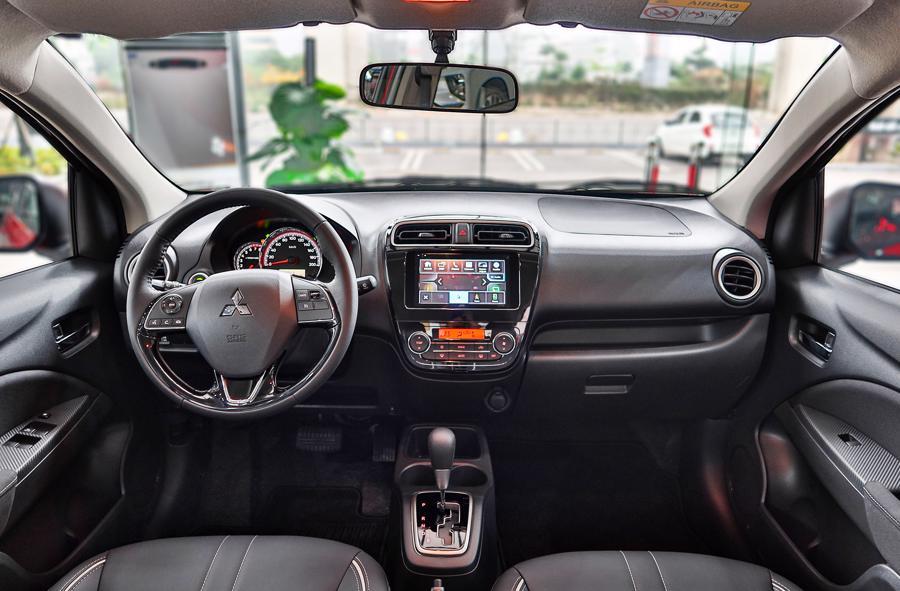 Mitsubishi Attrage phiên bản mới về Việt Nam, giá 485 triệu đồng - Ảnh 1.