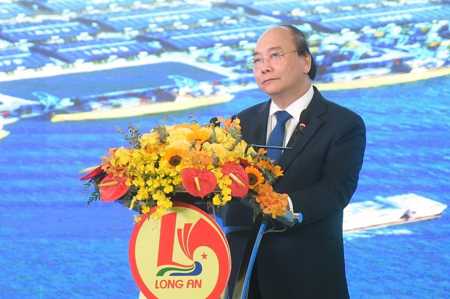 """Thủ tướng dự khánh thành khu công nghiệp đón """"sóng đầu tư"""" tại Long An - Ảnh 1."""