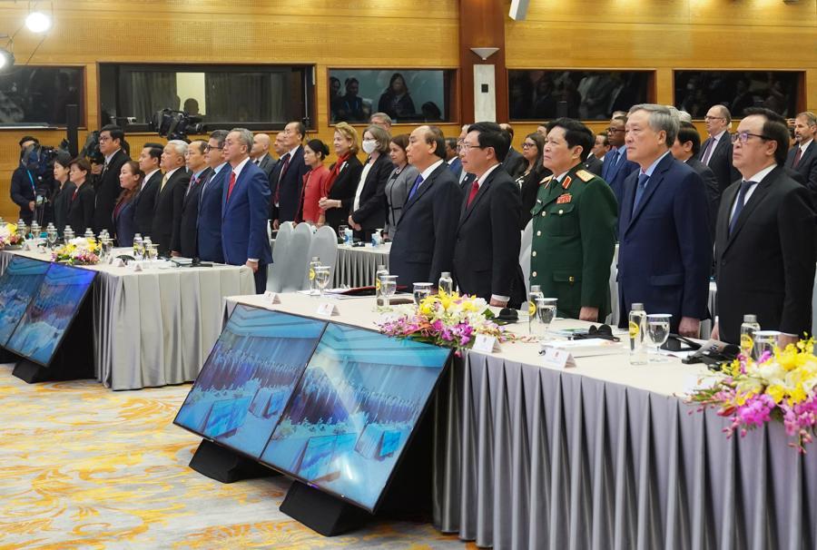 Bế mạc Hội nghị Cấp cao ASEAN 37, chuyển giao vai trò Chủ tịch ASEAN cho Brunei - Ảnh 3.