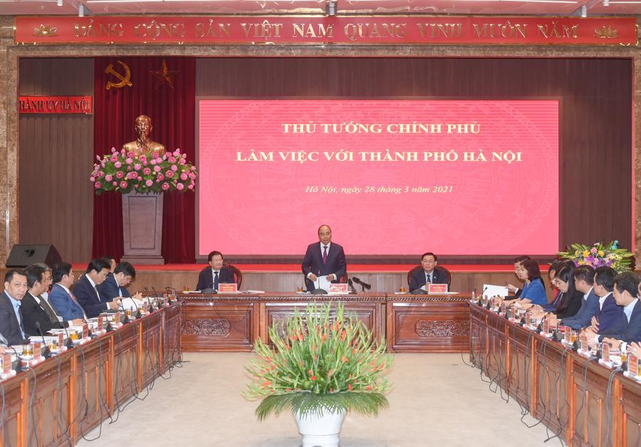 """""""Sẽ sớm có Nghị định về tổ chức mô hình chính quyền đô thị tại Hà Nội"""" - Ảnh 1."""