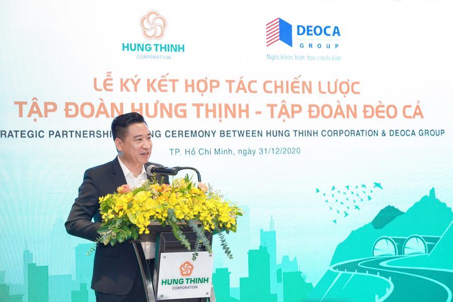 Tập đoàn Hưng Thịnh hợp tác cùng tập đoàn Đèo Cả - Ảnh 2.