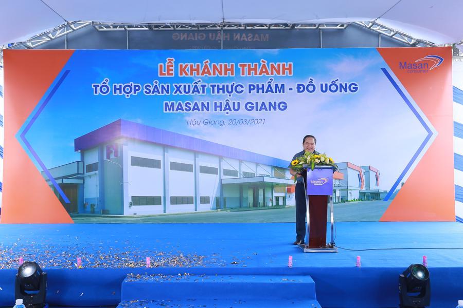 Masan Consumer khánh thành tổ hợp sản xuất thực phẩm - đồ uống tại Hậu Giang - Ảnh 1.