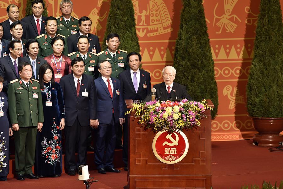 Bế mạc Đại hội lần thứ XIII của Đảng - Ảnh 1.