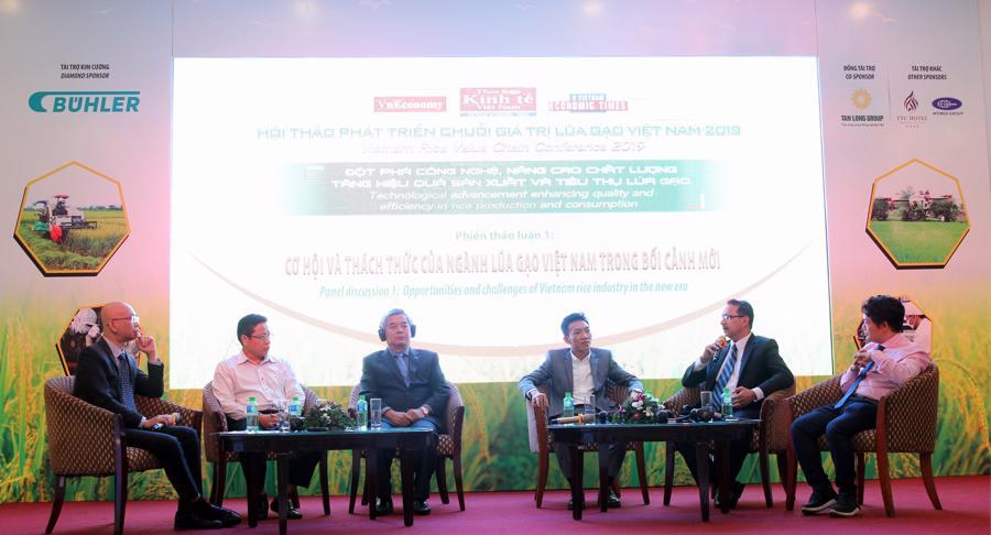 Phiên thảo luận 1 - Cơ hội & thách thức của ngành lúa gạo Việt Nam trong bối cảnh mới