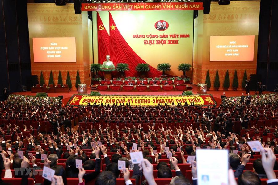 Phiên họp trù bị Đại hội XIII: Đảm bảo phát huy dân chủ - Ảnh 2.