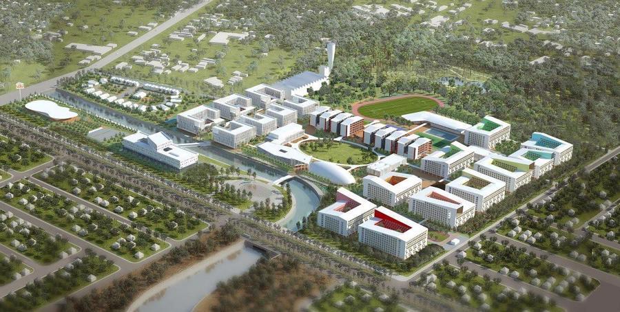 Bến Cát – Bình Dương sắp có trung tâm thương mại, đại học quốc tế lớn bậc nhất Việt Nam - Ảnh 1.