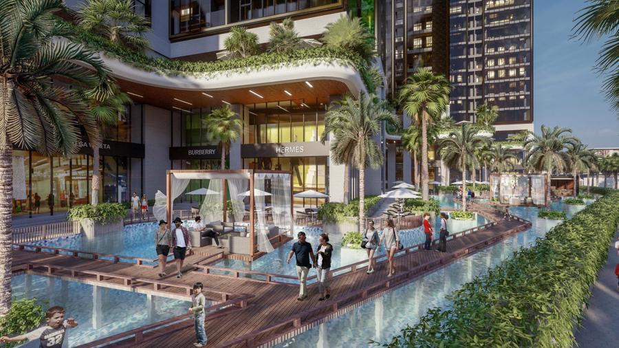 Sunshine Group triển khai tổ hợp resort trên ốc đảo, giữa hồ nhân tạo lớn bậc nhất Sài Gòn - Ảnh 2.