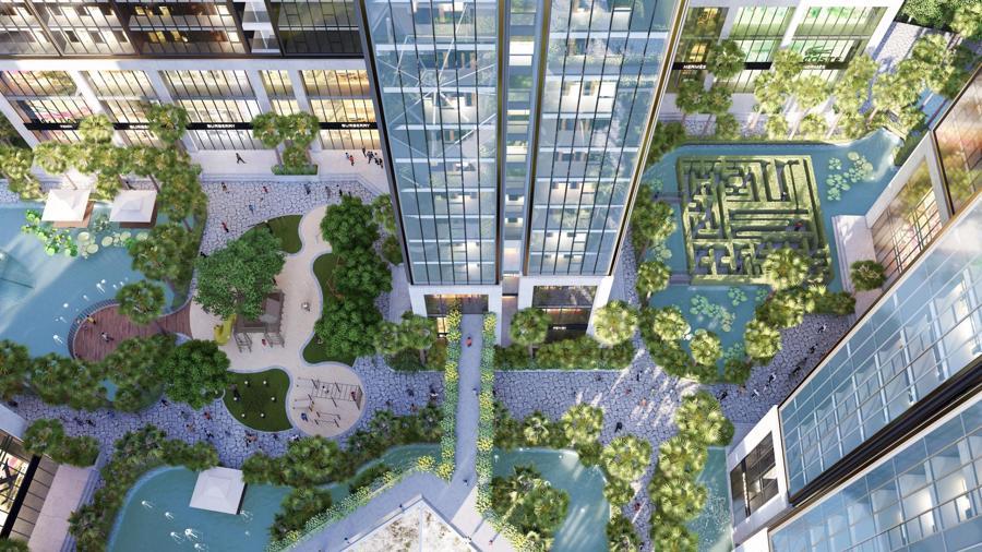 Dự án đầu tiên tại Quận 7 có 100% căn hộ thiết kế kính tràn nguyên khối từ trần xuống sàn - Ảnh 1.